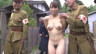 中文字幕  Jav :ENF CMNF Stripped Naked in Village  Japanese Woman in Public