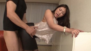 中文字幕  Jav :Dpmi025 Full Clothes Sex in Shiny Silk Satin Top and Black Leather Skirt